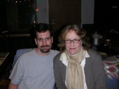 "With Jennifer Warnes at GrooveMasters Studios mixing her album ""The Well"""