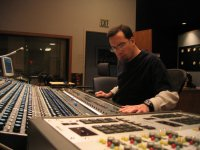 Mark mixing at GrooveMasters Studios, Santa Monica